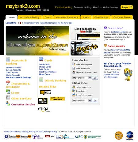 The New Maybank2u Website is Finally Here 2